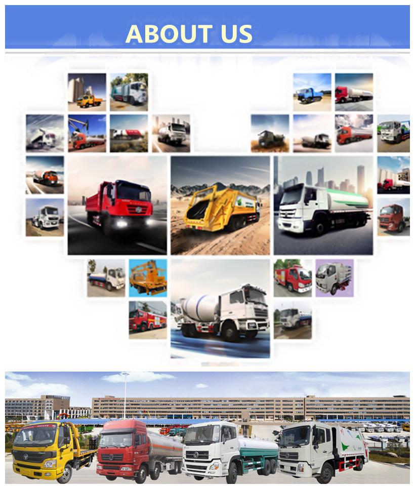 3 Axles 58.5 Cbm LPG Gas Transport Semi Trailer