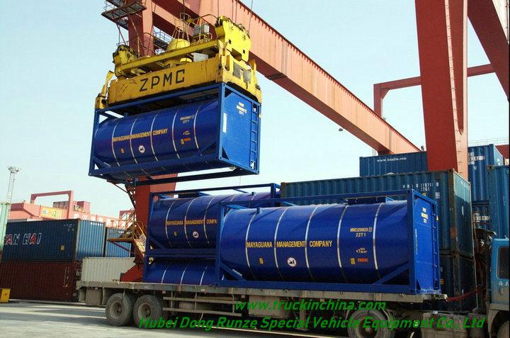 20FT Bitumen Tank Co<em></em>ntainer Customizing Transport Hot Asphalt 20000-24000 Litre (Bitutainer)