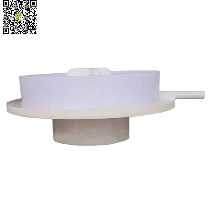 HCl Acid Tank Manhole Cover Full PE (Thread Cap PE Lid Vortex Screw Structure 580mm Lid with Flange)