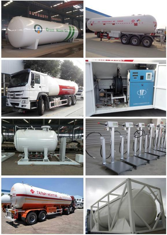 100cbm 40tons LPG Gas Station Use LPG Storage Tank