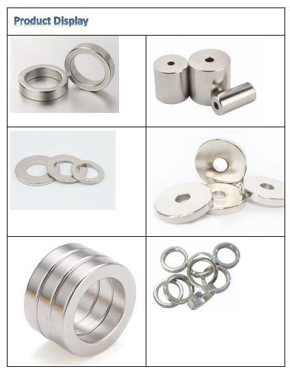 Sintered Neodymium Magnets for Sensors, Strong Sintered Nefeb Magnets