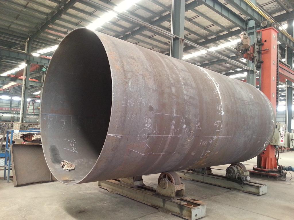 Pressure Vessel Storage Tank for LPG Gas Propane, Liquid Sulfur Dioxide, Natural Gas, Isobutane, Dimethyl Ether 80cbm