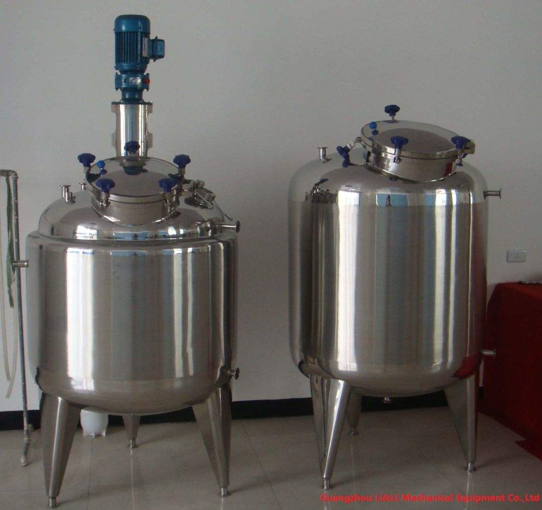 Food Grade Stainless Steel Tank Pure Water Storage Tank