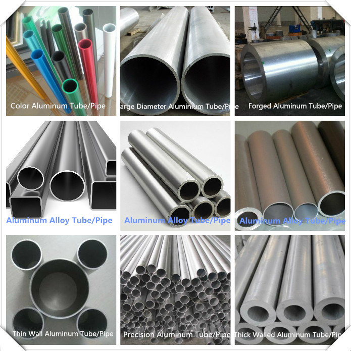 Seamless Extrusion Aluminum Tube Anodized Forged Round Large Diameter Thick Wall Aluminum Pipe (2011,2014,2024,3003,5052,5083,5086,6061,6063,6082,7005,7075)