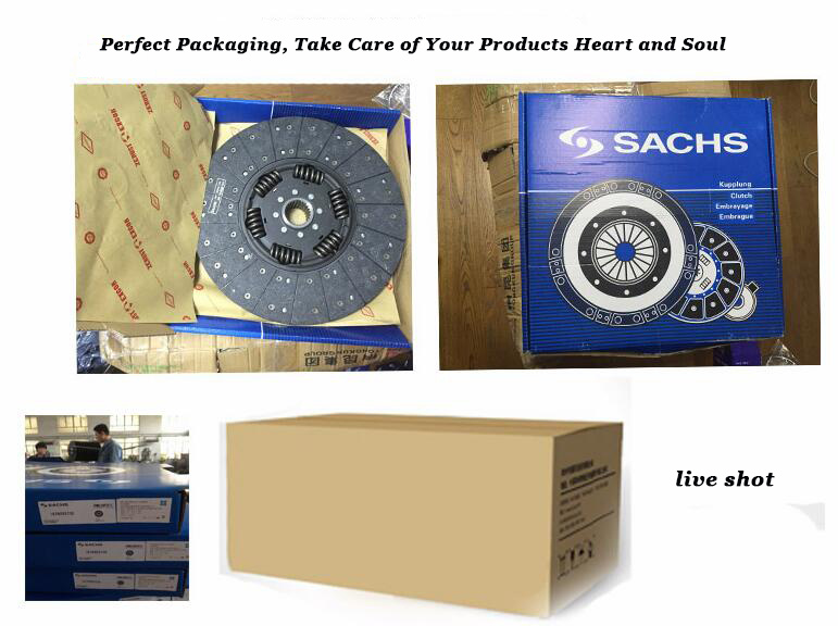 Me550742 High Quality Truck Parts Clutch Disc for Mitsubishi
