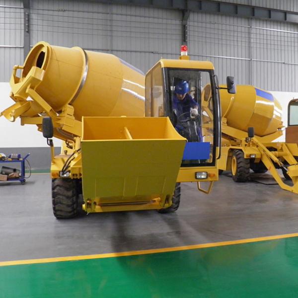 Heavy Duty Hydraulic Motor 1 Cbm Co<em></em>ncrete Mixer Truck