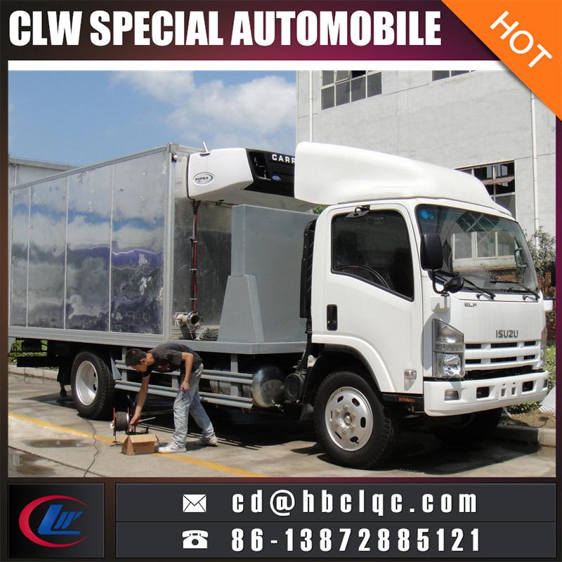 Good Quality 9t 10t Isuzu Refrigeration Box Car Refrigerated Vehicle