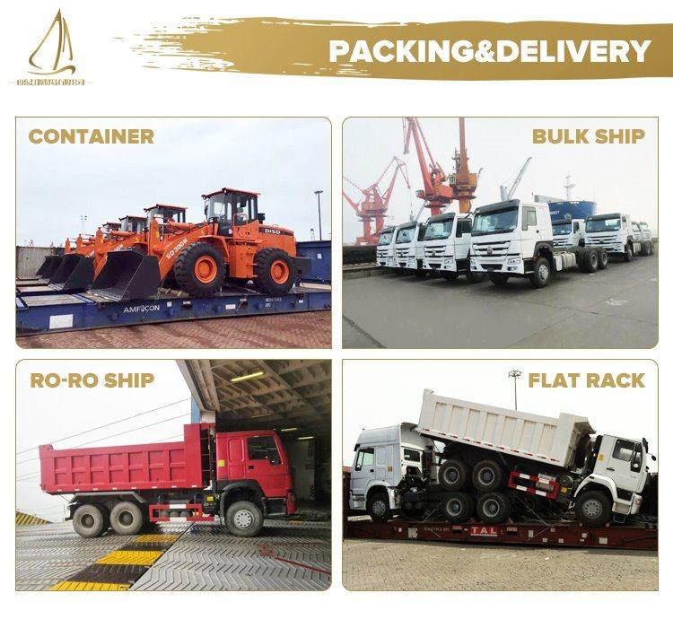 HOWO 266HP Diesel 6*4 Dump Truck for Africa