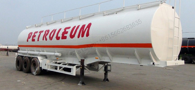Low Price 3 Axle 40000L Tank Water