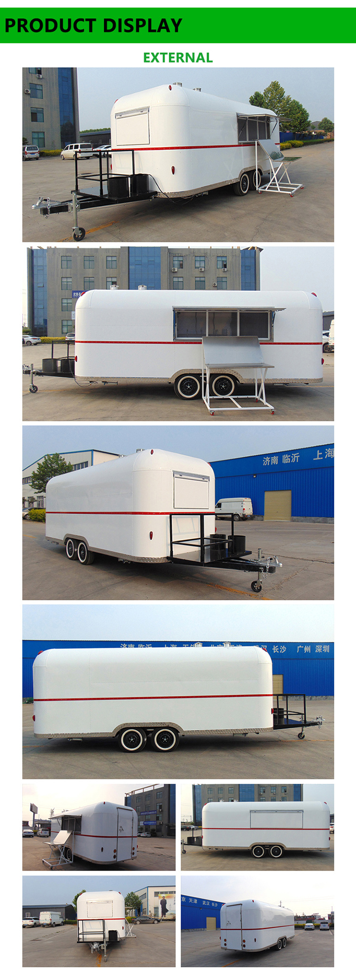 Mobile Food Truck with Kitchen Equipment