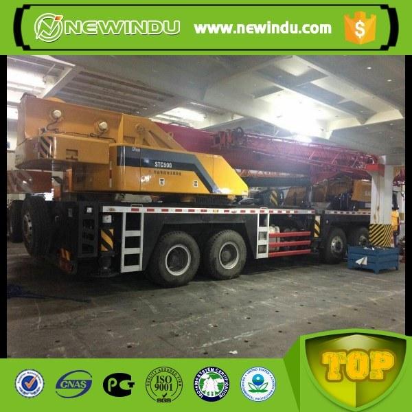 120 Ton Truck with Crane Pickup Truck Crane Stc1200s