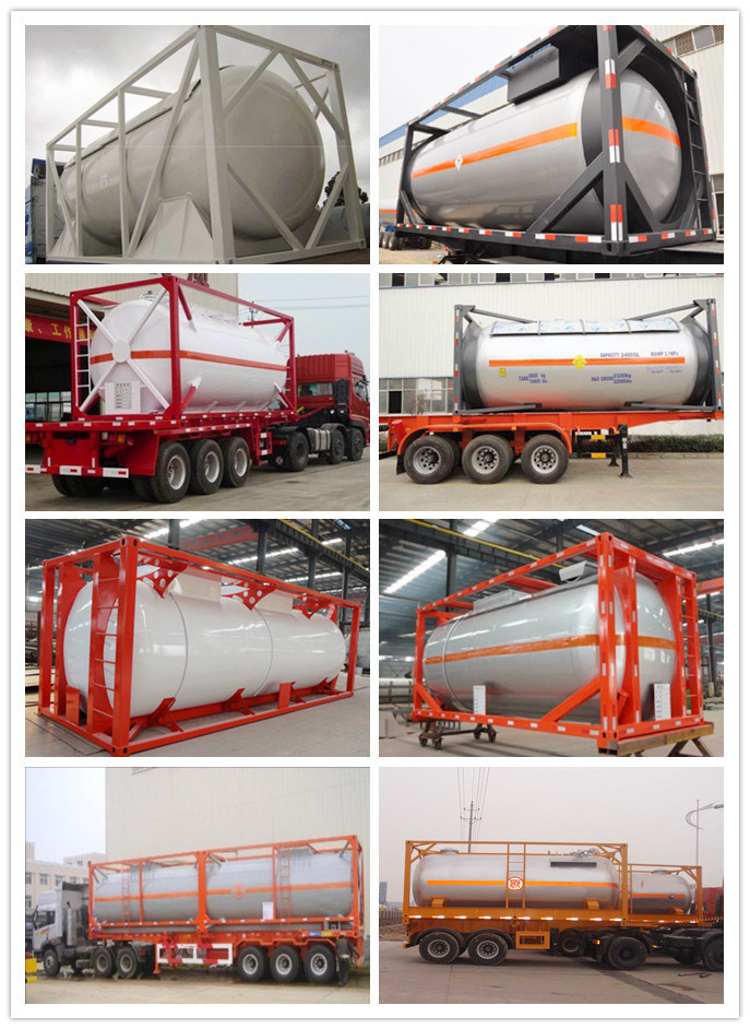 China Sell 10 Tons 20000 Liters LPG Tank Co<em></em>ntainer for Nigeria Ghana