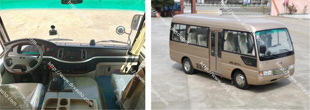 6 Meter Mitsubishi Rosa Copy 19 Seats Mini Bus