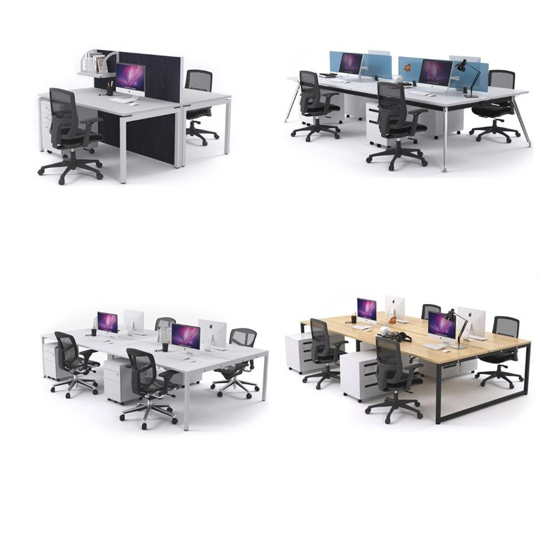 Hot Sale Modern Office Furniture Commercial Furniture Staff Desk