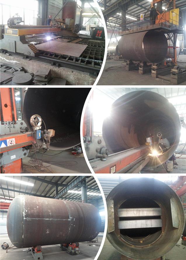Liquid Propane Gas Pressure Vessel 30000liters LPG Storage Tanks 15tons for Sale