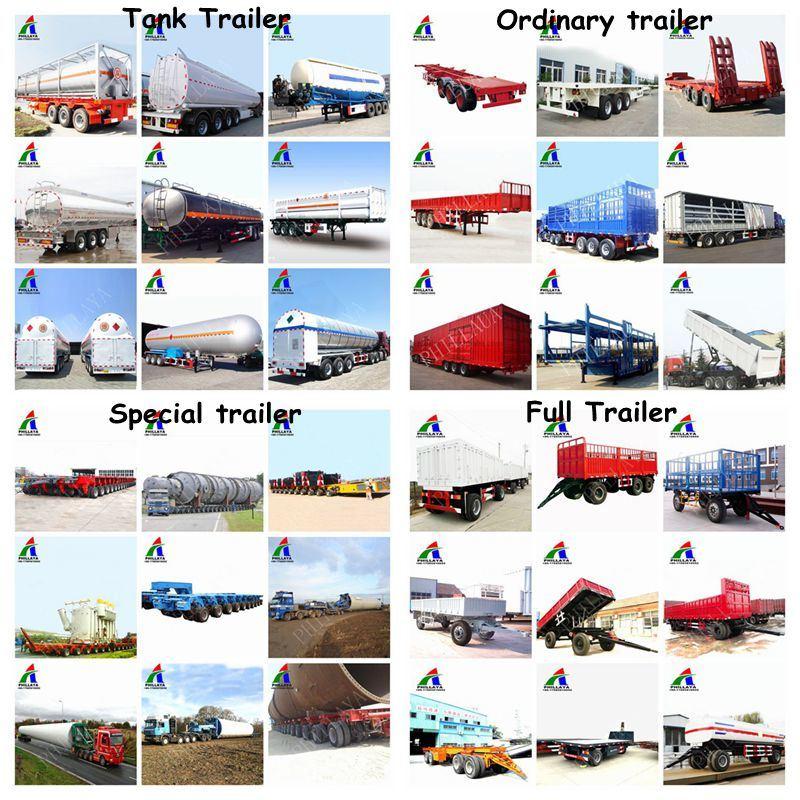 Bulk Cargo Animal Livestock Transport Horse Trailer with Side Fence