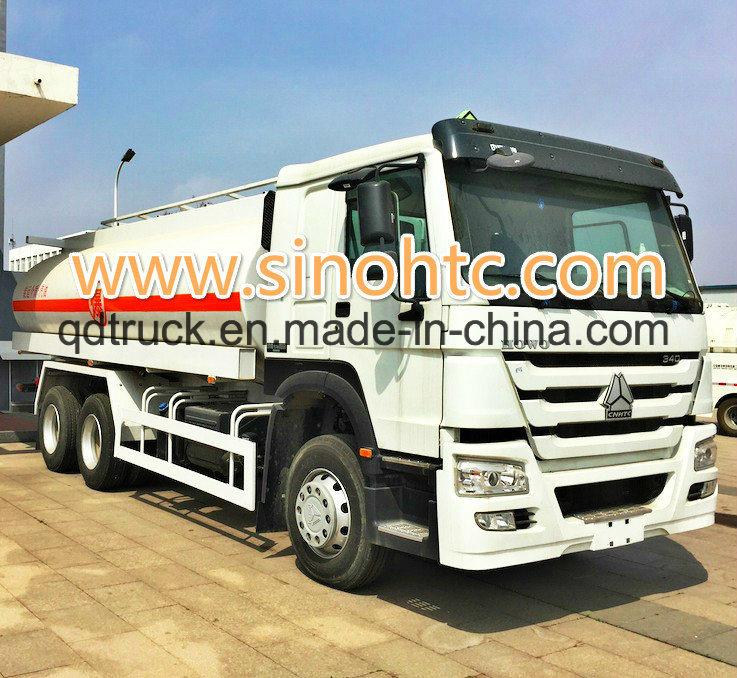 China Oil Tank truck, HOWO 15000L-20000L 6*4 Oil Tanker Truck