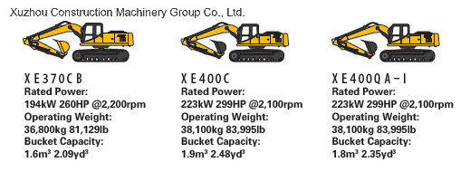 XCMG Official XE400C 40Ton Crawler Excavator (More Models