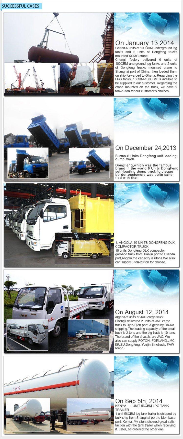 20cbm LPG Storage Tanker Truck LPG Transport Tanker Truck