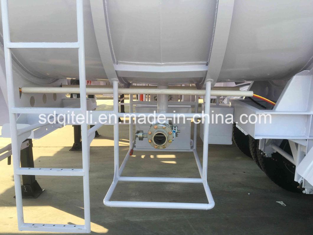 40000L Oil Fuel Tanker Transportation Stainless Steel Acid Tank Semi Trailer/Truck Trailer