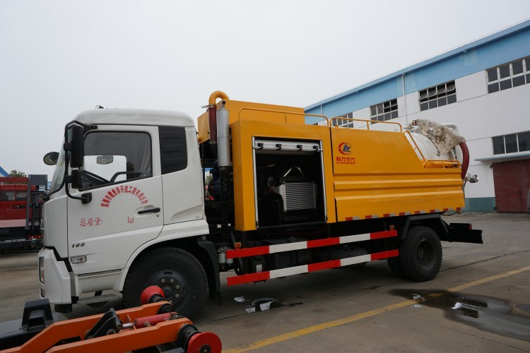 Customized High Quality HOWO 6*4 Co<em></em>nbined Suction&Jetting Truck From Factory