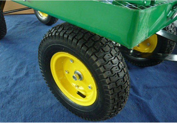 High Quality Heavy Duty Meshed Garden Cart (TC1840)
