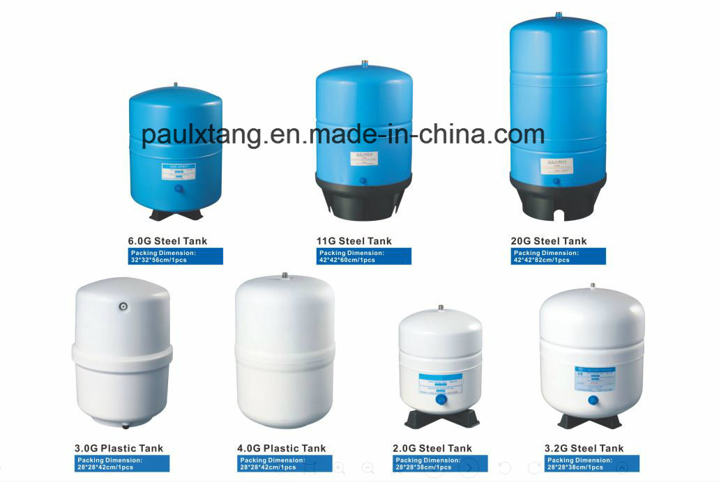 High Quality 11g Ce me<em></em>tal High Pressure Storage Water Tank