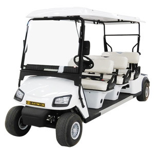 Custom Made 2 4 6 8 Seater Golf Cart Battery Powered Shuttle Classic Sightseeing Utility Electric Car with Ce & SGS