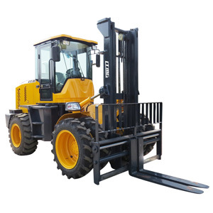 Ltmg 5ton 7ton 10ton LTR50 LTR70 LTR100 Rough Terrain Forklift off Road Froklift 4WD for Sale