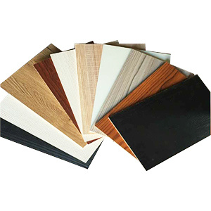 Melamine Laminated MDF with Fashion Colors for Building Materials and Furniture