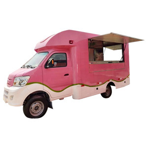Sinotruk Small Type Mobile Vending Breakfast Truck Food Trucks