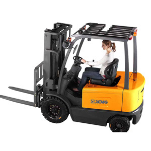 XCMG Official 1.5 Ton 2ton 2.5tons 3 Tons 3.5t Four Wheel Electric Forklift