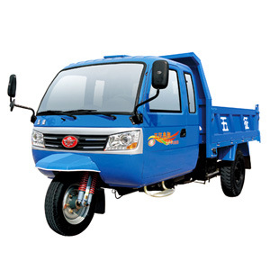 Waw Closed Cargo Diesel Motorized 3-Wheel Tricycle for Sale