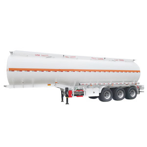 Widely Used Utility Heavy Duty 3 Axle 30000-50000L Water Tank Fuel Tank/Tanker Stainless Steel Truck Tractor Cargo Semi Trailer