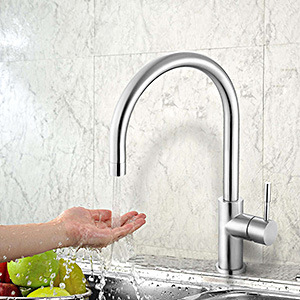 Stainless Steel Sink Faucet with CSA&Wm Certificates