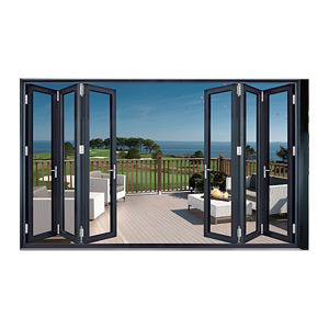 1.2-2.0 Thickness Bi-Fold Aluminum Door/Aluminium Alloy Door/ Metal Folding Door/Sliding/Patio/Swing/Casement/Glass