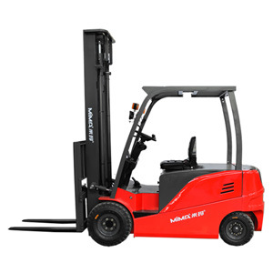 Factoty Direct 4 Wheel Battery Powered Full Electric Forklift with Ce