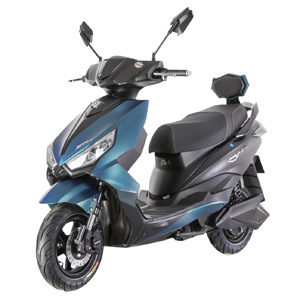 Patented Sporty Designed Electric Scooter Extended Range Disc Brake (MNP)