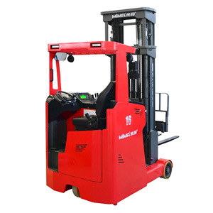1.6ton Narrow Aisles Electric Sit-Down Reach Truck Forklift for Sale