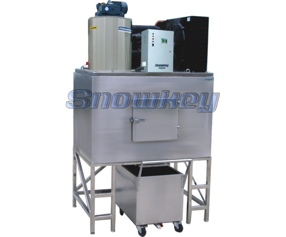 Flake Ice Maker (350kg/24hr - 2, 500kg/24hr)