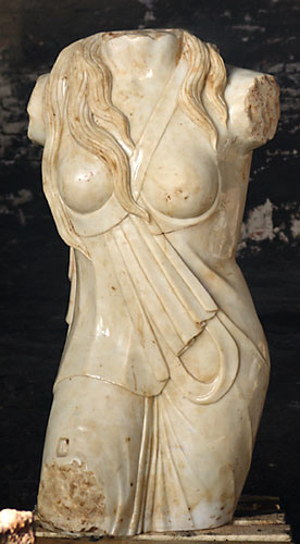 Marble Statue, Marble Sculpture, Stone Garden Statue (SK-2450)