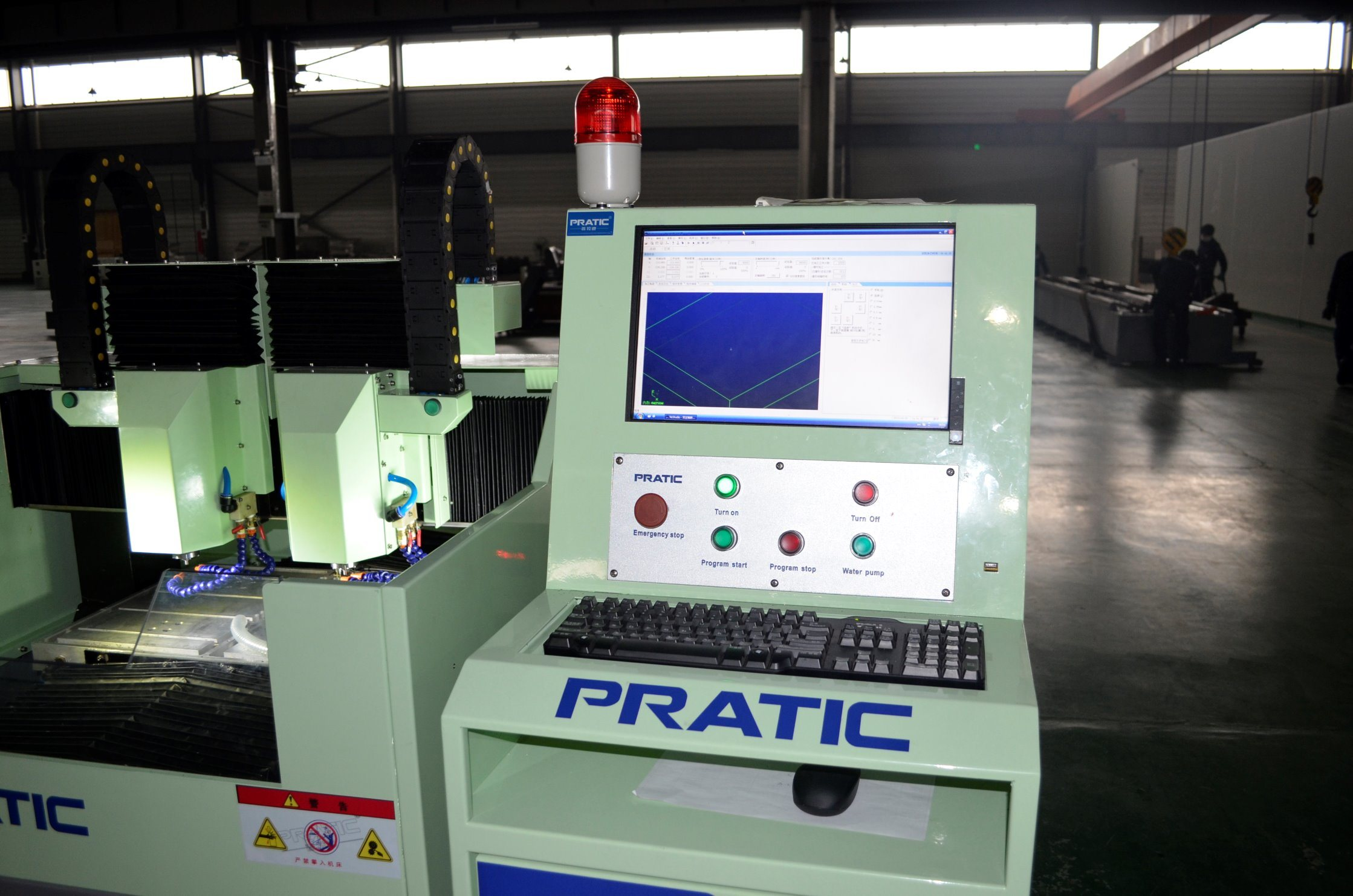 CNC Machinery Fittings Milling Machining Center in China-Px-430A