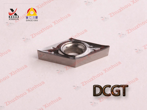 Aluminium Turning Inserts for Cemented Carbide Cutting Tools Dcgt