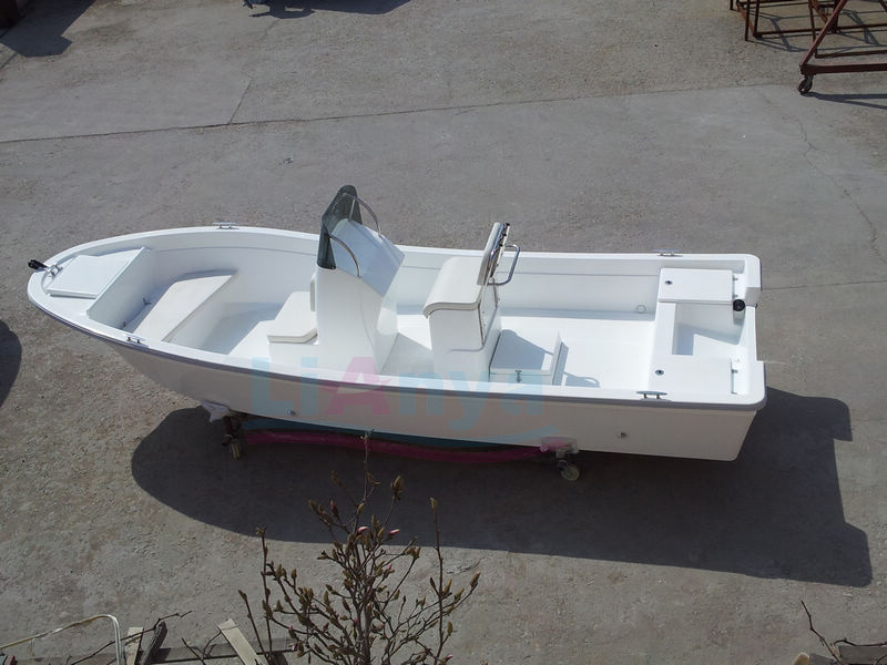 Liya 5.8 Meter China Fiberglass Fishing Boat Panga Boat for Sale
