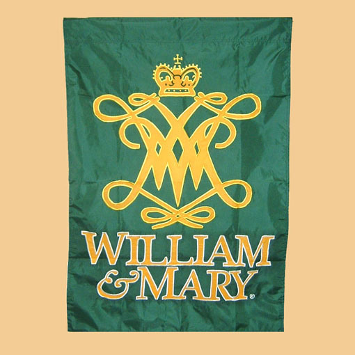 William mary embroidery banner fef china