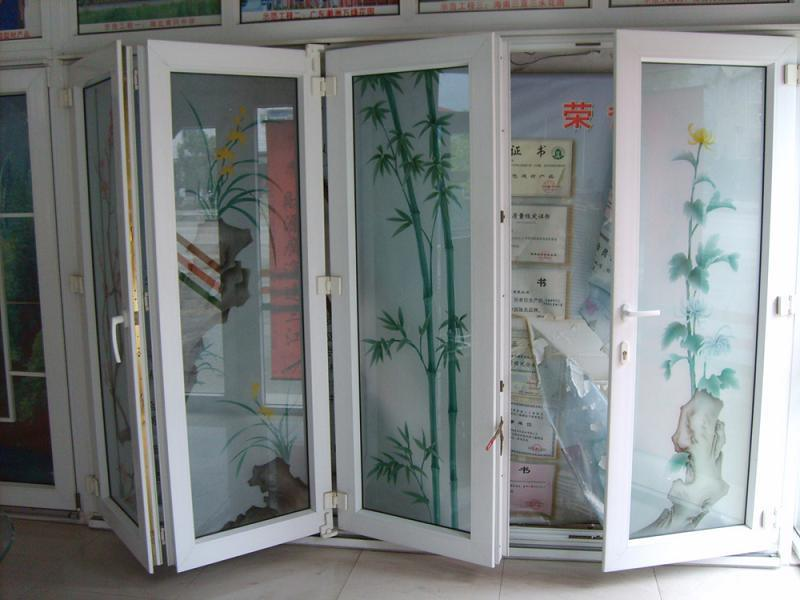 Vinyl Folding Patio Doors 800 x 600