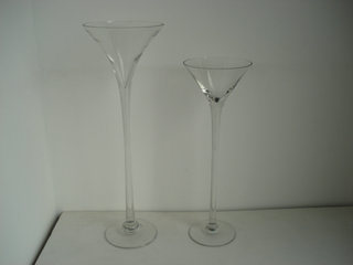 3 oversized Martini Glass Vases - $20 (Pikesville, MD) for Sale in