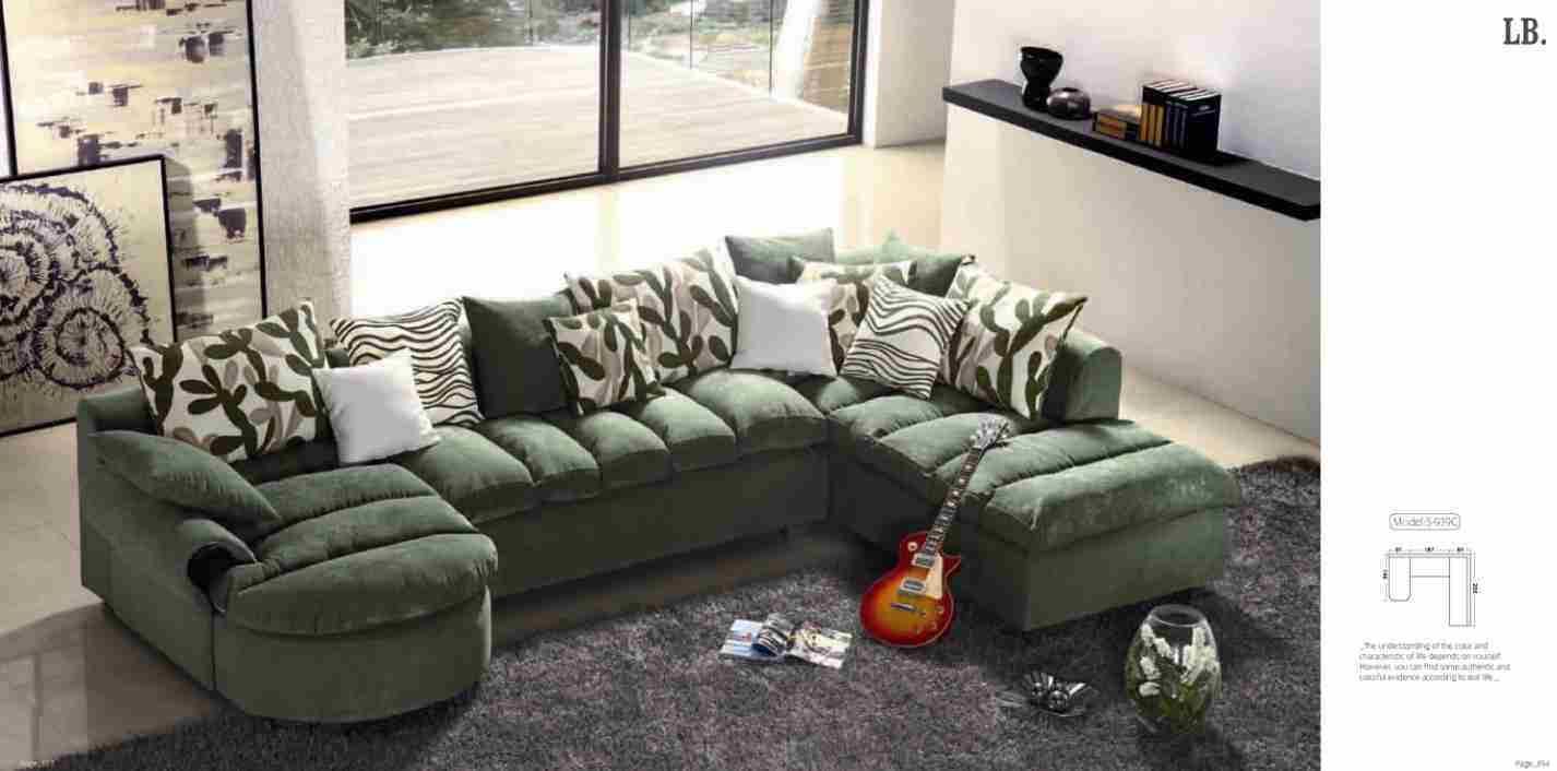 China U Shape Fabric Sofa S 939c China Fabric Sofa U Shape Sofa