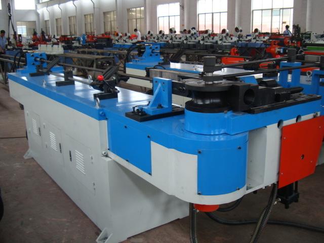 Hydraulic Carbon Steel Tube Bending Machine (GM-SB-76NCB)