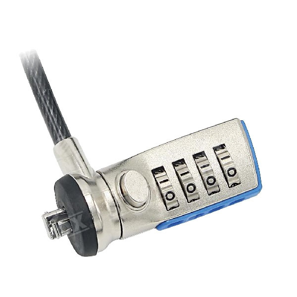 Universal Anti Theft 4 Dials Laptop Security Combination Lock